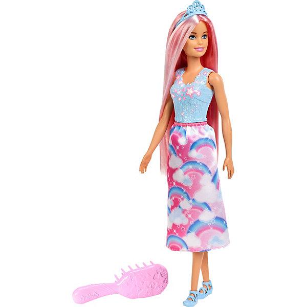 Фото - Mattel Кукла Barbie Dreamtopia Принцесса с прекрасными волосами кукла barbie dreamtopia