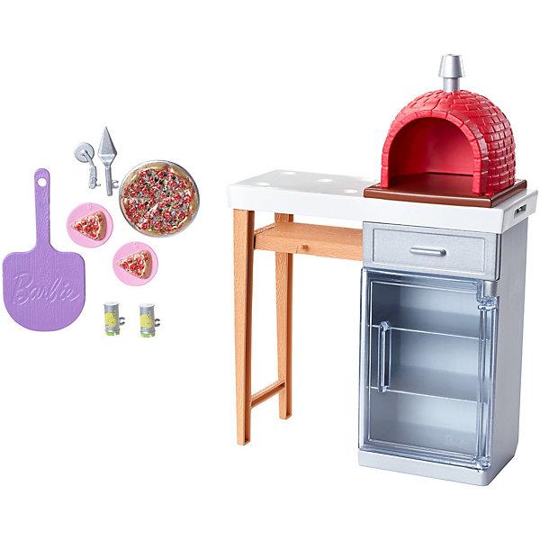 Mattel Набор мебели для кукол Barbie Отдых на природе Печь
