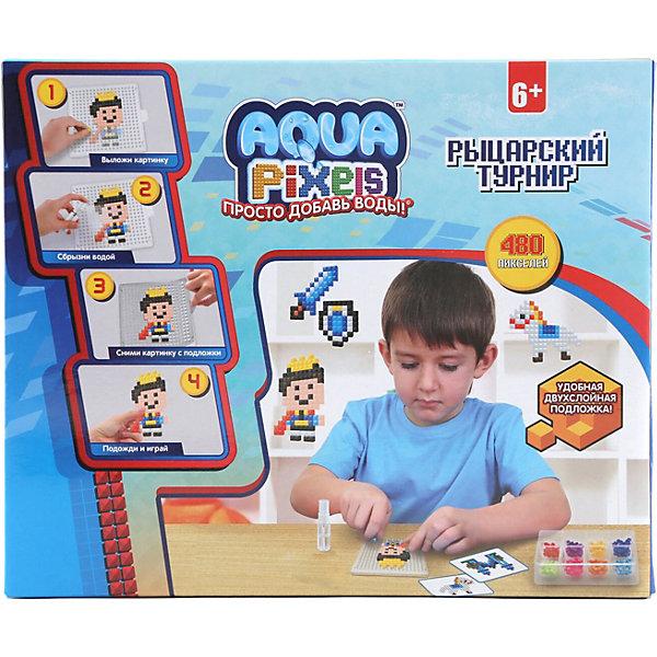 Lucky Набор для творчества 1Toy Aqua pixels Рыцарский туринир, 480 пикселей lucky набор для творчества 1toy aqua pixels набор принцессы 600 пикселей