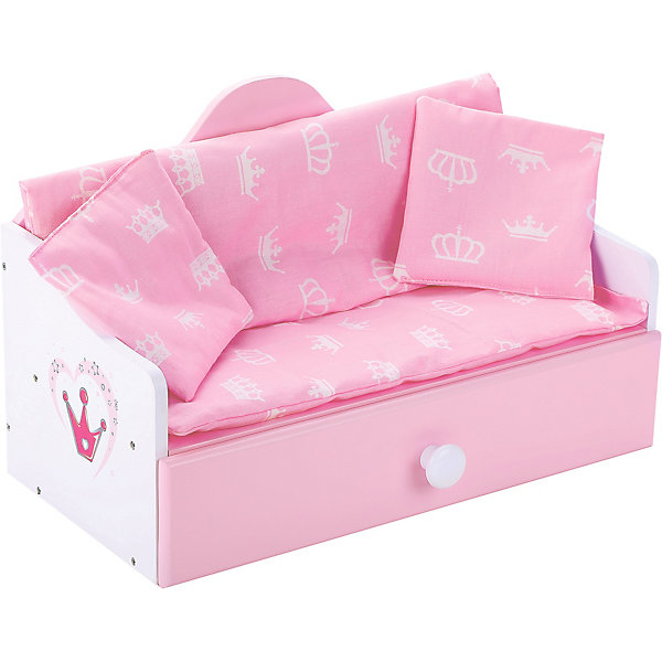 кроватки для кукол Mary Poppins Мебель для кукол Mary Poppins Корона Кроватка-софа