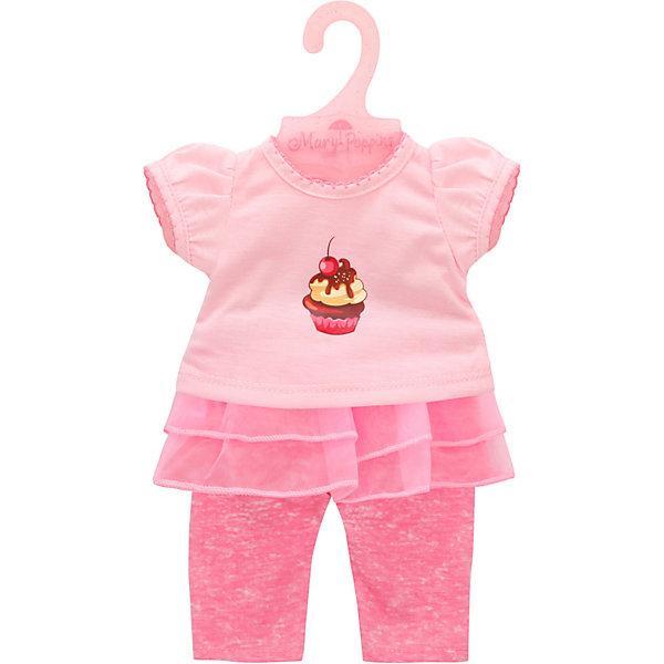 Mary Poppins Одежда для куклы Карамель Футболка и штанишки, 38-45 см