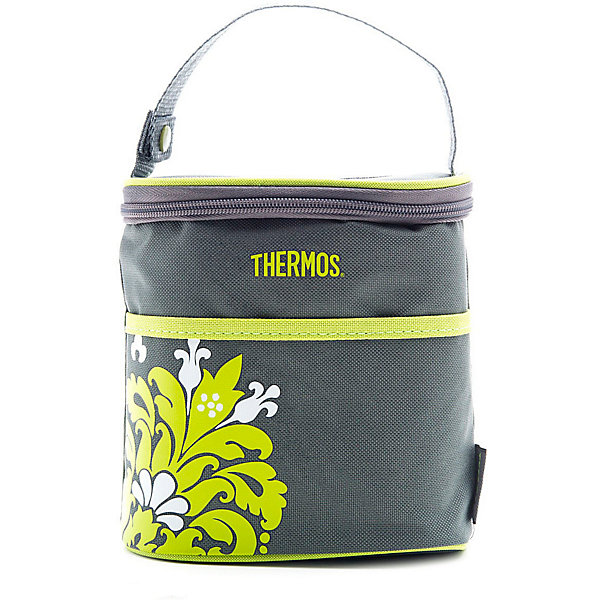 THERMOS Термосумка для бутылочек Thermos Valencia Bottle Holder, серая термосумка thermos heritage 36 can cooler 30л [447708]