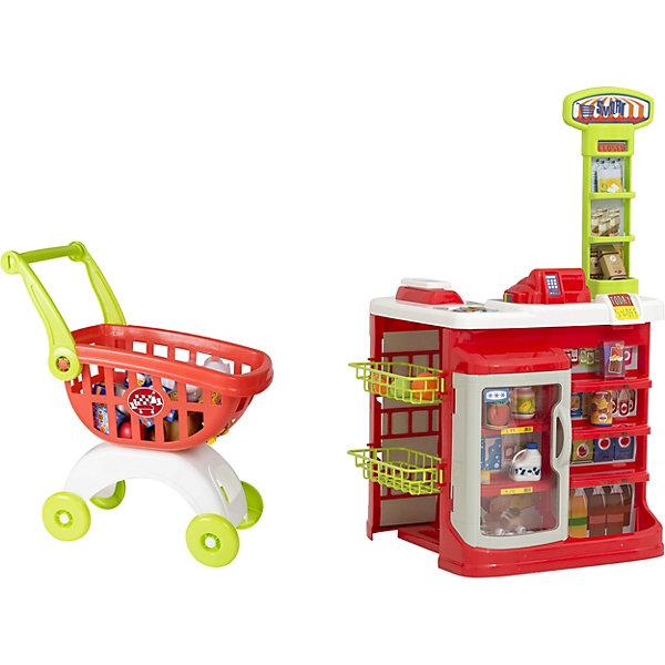 HTI Игровой набор HTI Smart Супермаркет с тележкой надувной гидроцикл hti 89х78х37 см