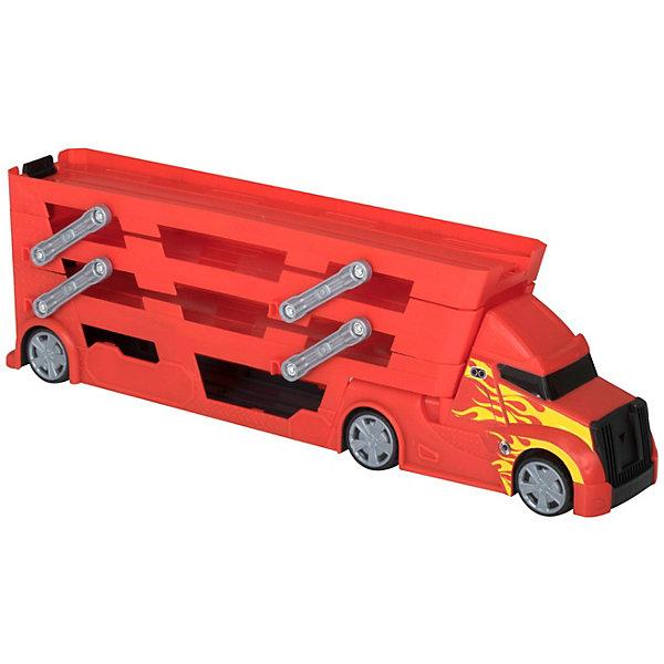 Купить Четырёхуровневый грузовик-транспортер HTI Teamsters , с системой запуска машин, Китай, разноцветный, Мужской