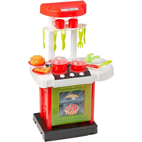 HTI Портативная электронная кухня HTI Smart, 15 аксессуаров электронная мини кухня smart 1684081