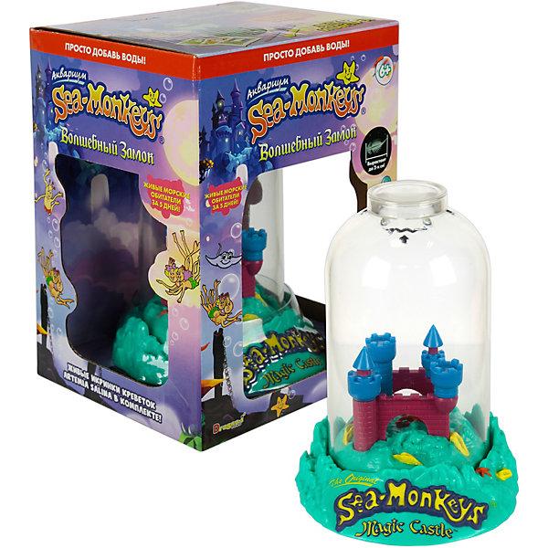Купить Аквариум Sea-Monkeys Волшебный замок для выращивания ракообразных вида Artemia Salina, 1Toy, Китай, разноцветный, Унисекс
