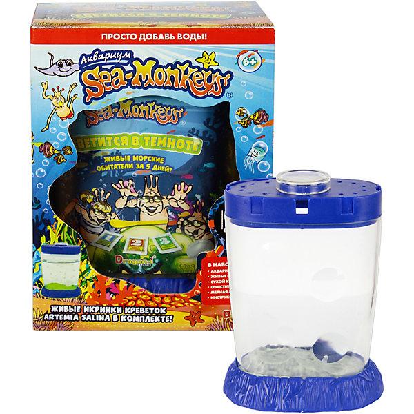 1Toy Аквариум Sea-Monkeys светящийся в темноте для выращивания ракообразных вида Artemia Salina искусственные светится в силу аквариум украшения аквариум медуз украшения