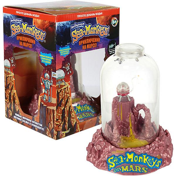Купить Аквариум Sea-Monkeys Приключения на Марсе, для выращивания ракообразных вида Artemia Salina, 1Toy, Китай, разноцветный, Унисекс