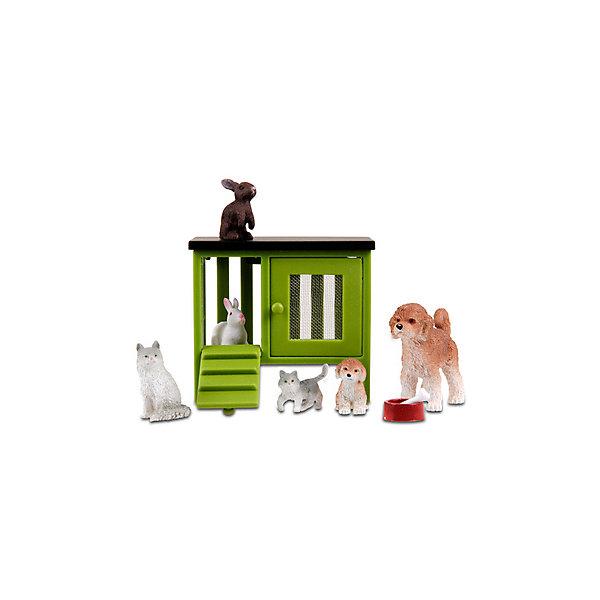 """Картинка для Фигурки для домика Lundby """"Стокгольм"""" Домашние животные"""