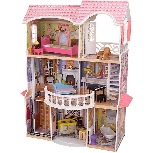 KidKraft Винтажный кукольный дом для Барби Магнолия, в подарочной упаковке