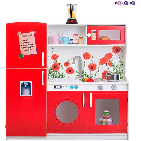 Купить Игрушечная кухня Paremo Фиори Россо , Россия, разноцветный, Унисекс