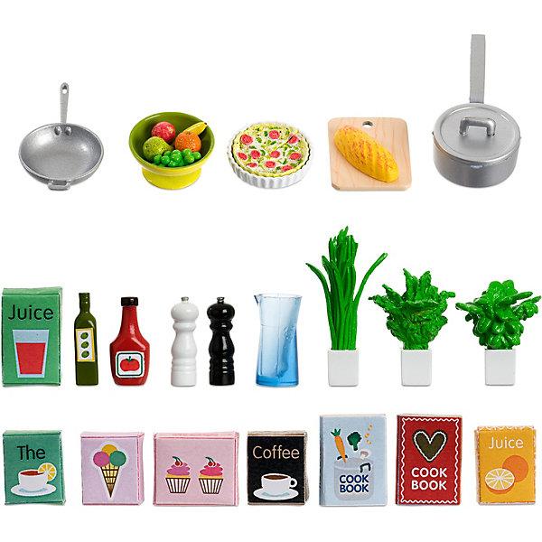 Lundby Аксессуары для домика Набор кухонных аксессуаров, 21 предмет