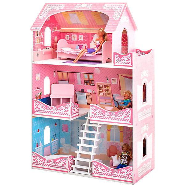 PAREMO Кукольный домик Paremo Адель Шарман, с мебелью