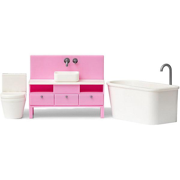 Lundby Мебель для домика Базовый набор ванной комнаты