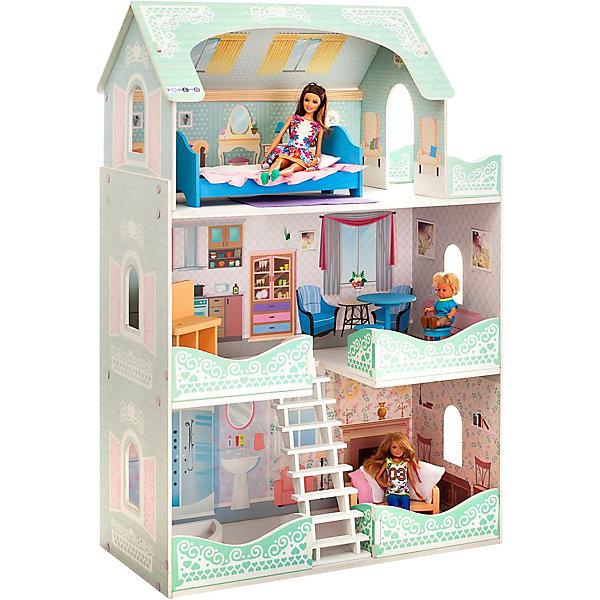 Купить Кукольный домик Paremo Вивьен Бэль , с мебелью, Россия, разноцветный, Женский