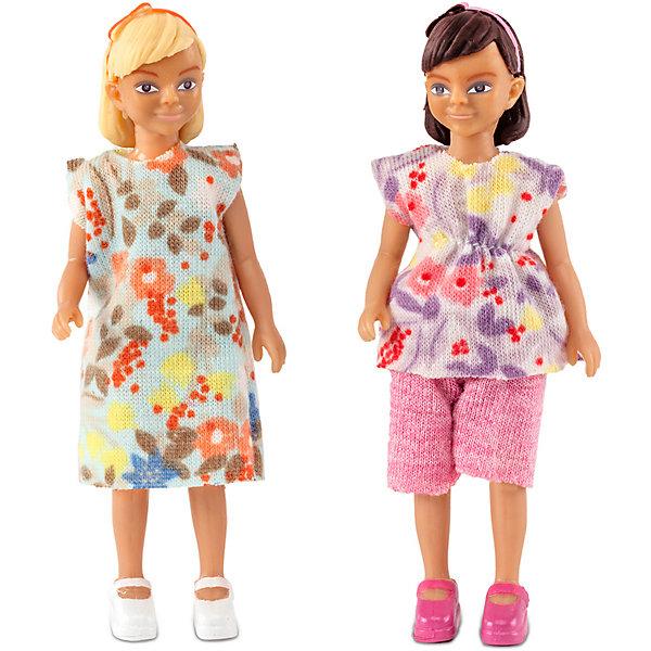 Lundby Куклы для домика Две девочки