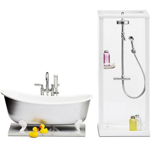 Lundby Мебель для домика Lundby Смоланд Ванная и душевая