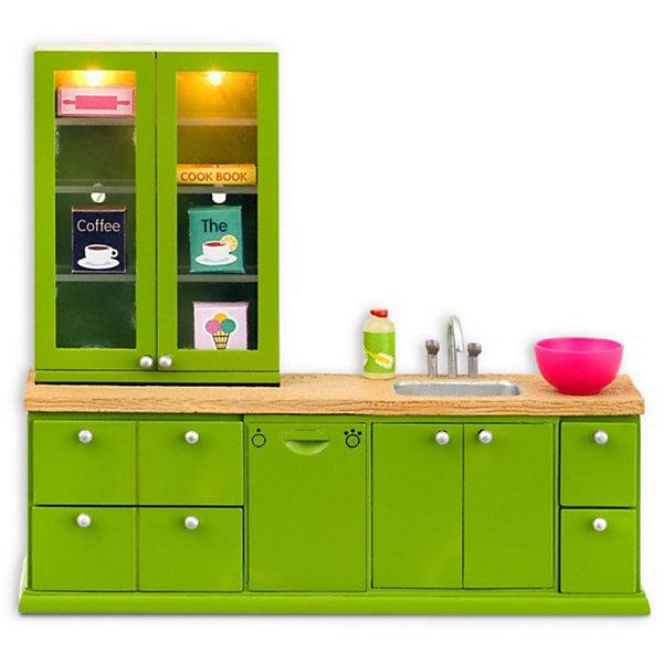 Lundby Мебель для домика Lundby Смоланд Кухонный набор с буфетом