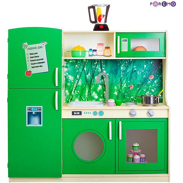 Купить Игрушечная кухня Paremo Фиори Вэрде , Россия, разноцветный, Унисекс