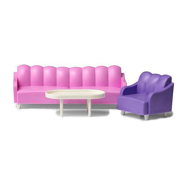 Lundby Мебель для домика Lundby Базовый набор гостиной для гостиной