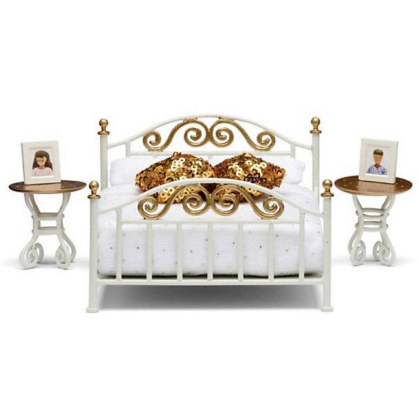 Lundby Мебель для домика Lundby Смоланд Спальня в античном стиле
