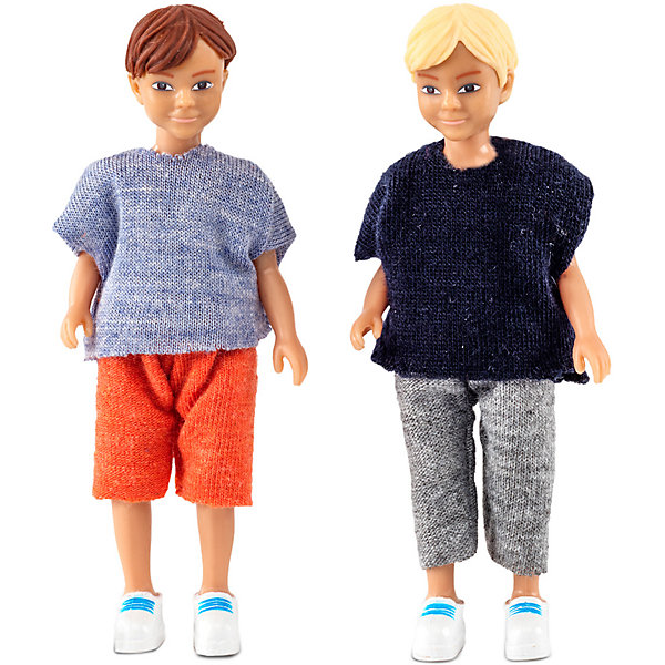 Lundby Кукла для домика Lundby Два мальчика 2 домика из дерева chayma