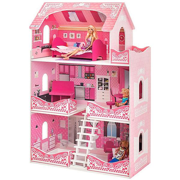 PAREMO Кукольный домик Paremo Розет Шери, с мебелью