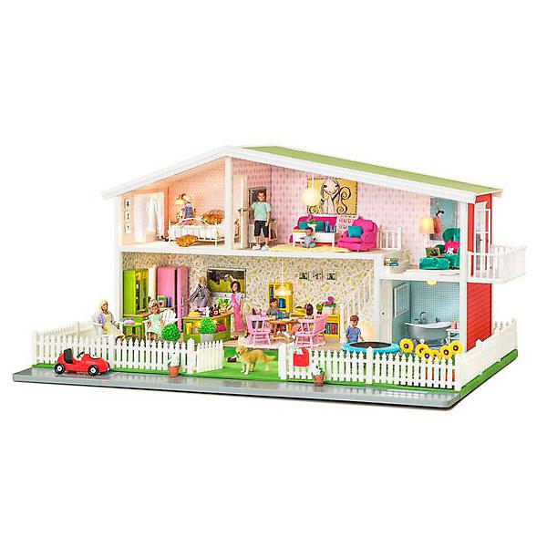 Купить Кукольный домик Lundby Премиум , Китай, разноцветный, Женский