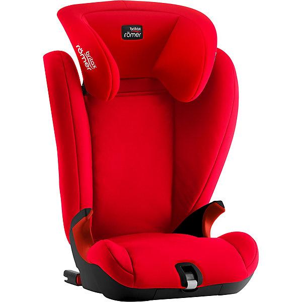 Автокресло Britax Romer Kidfix SL Black Series soft latch 15-36 кг Fire Red Britax Römer красного цвета