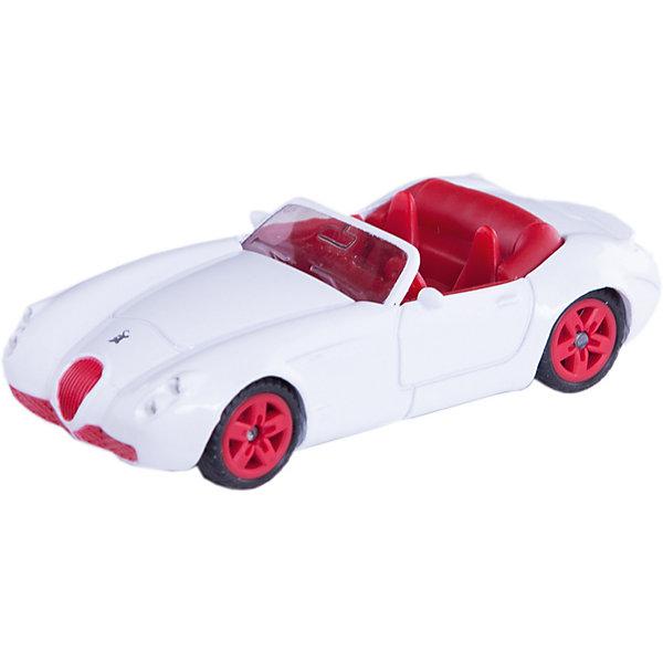 SIKU 1320 МашинаМашинки<br>Машина 1320, Siku, станет замечательным подарком для автолюбителей всех возрастов. Модель представляет из себя стильный эксклюзивный кабриолет и отличается высокой степенью детализации и тщательной проработкой всех элементов. Белая машина с открытым верхом оснащена прозрачными лобовым стеклом, в салоне можно увидеть сиденья и руль, спереди размещены красные пластиковые фары. Широкие шины оборудованы спортивными колесными дисками красного цвета. Корпус модели выполнен из металла, детали изготовлены из ударопрочной пластмассы.<br><br>Дополнительная информация:<br><br>- Материал: металл, пластик, колеса прорезиненные.<br>- Масштаб: 1:55.<br>- Размер: 7,7 x 3,3 x 2,1 см.<br>- Вес: 41 гр.<br><br> 1320 Машину, Siku, можно купить в нашем интернет-магазине.