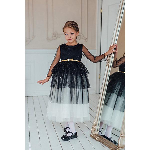 Unona Платье Unona для девочки платье с вставками из сетки tuzzi платья и сарафаны приталенные