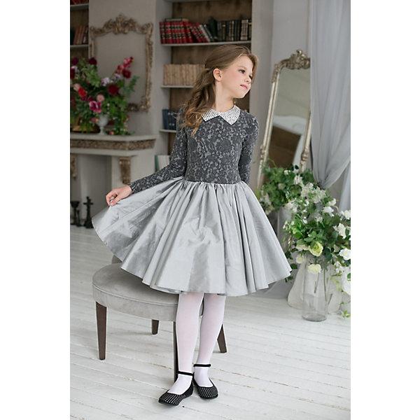 Unona Платье Unona для девочки миграции ветер звезда с питер воротник блузка с длинным рукавом обрезана рукав платье