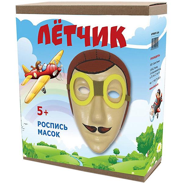 Купить Маска для росписи Santa Lucia Летчик , Россия, разноцветный, Унисекс