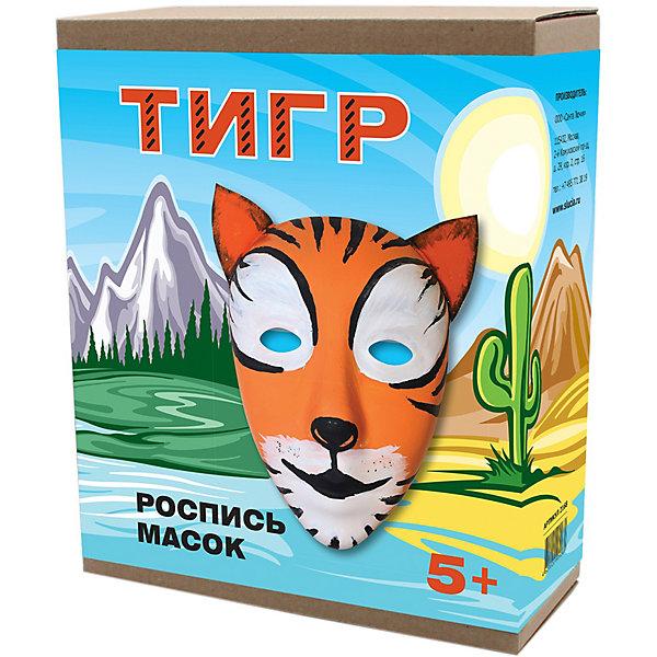 Купить Маска для росписи Santa Lucia Тигр , Россия, разноцветный, Унисекс