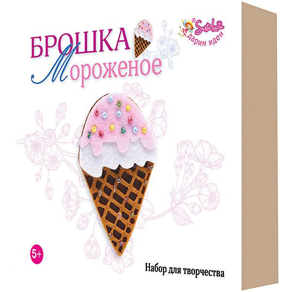 "Santa Lucia Набор для творчества Santa Lucia Брошка ""Мороженое"""