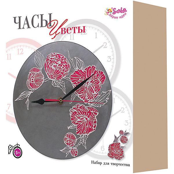 """Набор для творчества Santa Lucia Часы """"Цветы"""", Разноцветный"""
