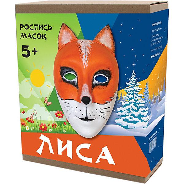 Купить Маска для росписи Santa Lucia Лиса , Россия, разноцветный, Унисекс