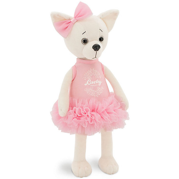 Купить Мягкая игрушка Orange Lucky Lili Грация , Китай, белый, Унисекс