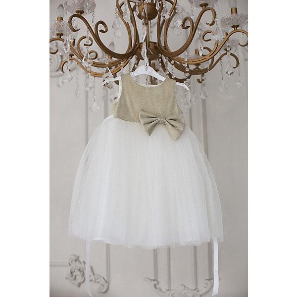 Купить Платье Unona для девочки, Россия, желтый, 98, 110, 104, 92, Женский