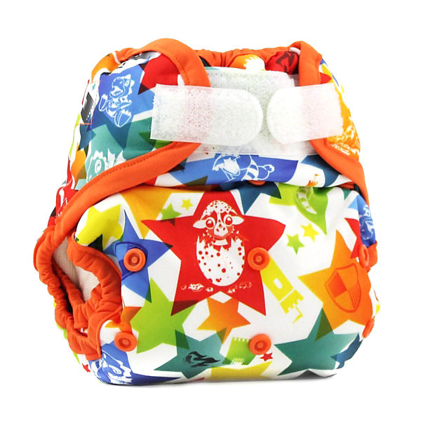 Kanga Care Обложка-подгузник Kanga Care Aplix Cover, dragons fly/poppy многоразовый подгузник kanga care для новорожденных lil joey 2 шт poppy 784672405829