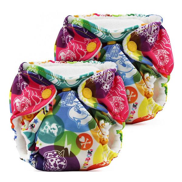 Kanga Care Многоразовые подгузники для новорожденных Kanga Care Lil Joey 2 шт. tokiCorno многоразовый подгузник kanga care для новорожденных lil joey 2 шт peacock 661799592710