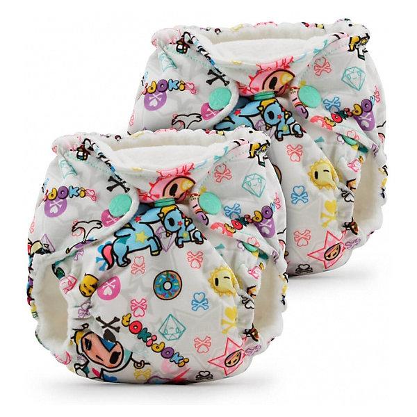 Kanga Care Многоразовые подгузники для новорожденных Kanga Care Lil Joey 2 шт. tokiBambino многоразовый подгузник kanga care для новорожденных lil joey 2 шт poppy 784672405829