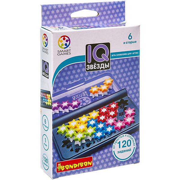 Bondibon Логическая игра Bondibon IQ-Звёзды bondibon логическая игра парковка пазл вв1887