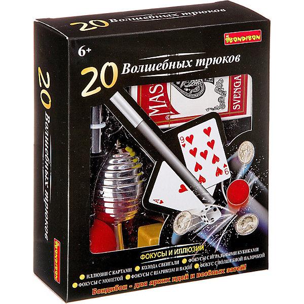 Bondibon Набор для фокусов Bondibon 20 волшебных трюков