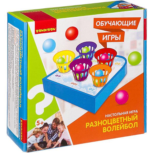 "Bondibon Настольная игра Bondibon ""Разноцветный волейбол"""