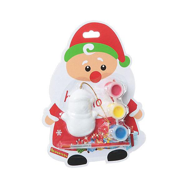 Bondibon Набор для творчества Ёлочные украшения Дед Мороз