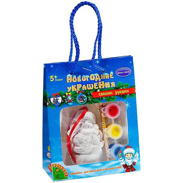 Купить Набор для творчества Bondibon Новогодние украшения Снеговик, Китай, разноцветный, Унисекс