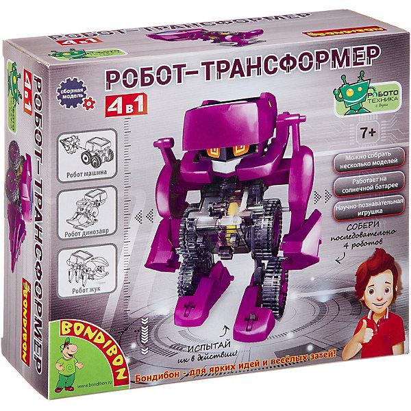 Bondibon Французские опыты Bondibon Науки с Буки Робот-трансформер 4 в 1