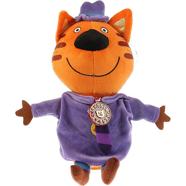 Мульти-Пульти Мягкая игрушка Мульти-Пульти 3 кота Папа Кот, озвученная, 20 см мягкие игрушки мульти пульти кот 25 см