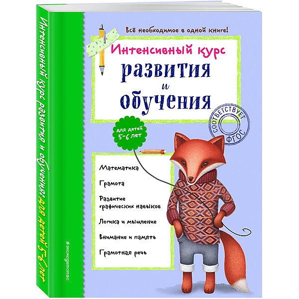 Купить Пособие Интенсивный курс развития и обучения: для детей 5-6 лет , Эксмо, Россия, Унисекс